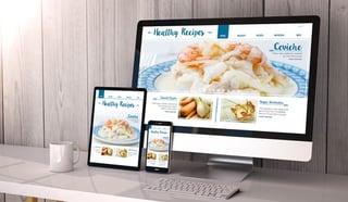 Le même site internet sur PC, smartphone et tablette